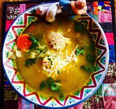 Turkey Cilantro Enchilada Soup for the 17 Day Diet