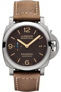 Panerai [NEW] Luminor 1950 3 Days Titanio Pam 1351 (Retail:HK$58,500) - Selling Price 售價: HK$47,000.   #panerai #pam #pam1351 #pam_1351 #pam01351 #luminor #luminorTitanio  #luminor_Titanio #PanerailuminorTitanio #Panerai_luminor_Titanio