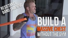 Build a Big Chest Without the Gym Bulk Muscle, Gain Muscle, Resistance Band Training, Healthy Weight Gain, Muscle Building Workouts, At Home Workouts, Workout Routines, Transformation Body, Weight Training