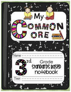 common core notebooks