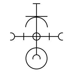 Perseverence Having trouble seeing things through to the end? Me too. Here's a symbol to help with that! It embodies the concept ofperseverance, and when used will invoke those energies wherever you call them (your mind, other people, events, plans, etc.)