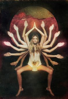 """Divine Feminine / Goddess / Embodied - """"Life isn´t about finding yourself. Life is about creating yourself. Sacred Feminine, Divine Feminine, Mary E Francis, Psy Art, Age Of Aquarius, Aries, Wheel Of Fortune, It Goes On, Moon Child"""