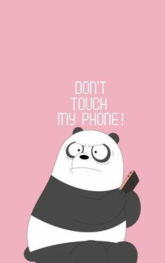 don't touch my phone foundonweheartit iphonebackground phonebackground iphonewal… – funny wallpapers backgrounds Funny Lockscreen, Disney Phone Wallpaper, Cartoon Wallpaper Iphone, Iphone Background Wallpaper, Galaxy Wallpaper, Iphone Backgrounds, Wallpaper Desktop, Phone Wallpaper Cute, Lock Screen Backgrounds