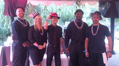 Our awesome VIP bar volunteers for Bet Against Breast Cancer, benefiting Wings Cancer Foundation on Saturday!