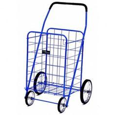 Narita™ Jumbo Folding Shopping Cart