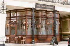 Prince Alfred, Maida Vale (pub)--Love the architecture!
