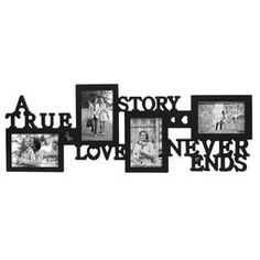 30 X 11-in A True Love Collage Frame