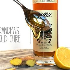 Got a cold? Show it who's boss with this old fashioned medicinal cocktail.