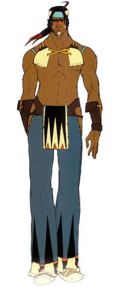 Natan Concept from Shadow Hearts: From The New World