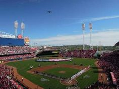 A study ranked Great American Ball Park among the dirtiest MLB stadiums.