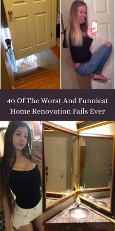 Having your own home is the number one of the best feelings in the world; another one is renovating it according to your own style and desire. #40 #Worst #Funniest #RenovationFails