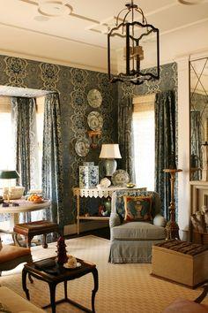 Дизайн интерьера в стиле ампир   Moss-Design