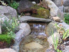 1000 images about cascades d 39 eau on pinterest - Cascade pour bassin d ornement besancon ...