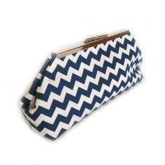 Revelry Dresses - Coin Clutch (Navy Chev), $39.00 (http://www.revelrydresses.com/coin-clutch-navy-chev/)