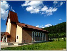 Štiavnička - kostol Svätej rodiny