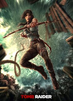 """Fanart: """"Tomb Raider"""" by Norbface"""