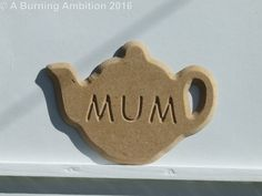 Decorative wall or door plaques Mum Girlfriend by ABurningAmbition