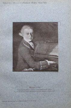1920 WOLFGANG AMADEUS MOZART PORTRÄT PORTRAIT alter Druck antique print Litho Antique Prints, Ebay, Portrait, Antiques, Painting, Art, Postage Stamps, Shopping, Craft Art