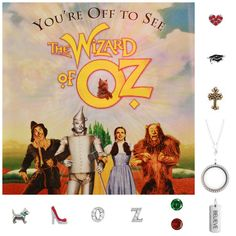 Wizard of Oz Origami Owl! Life=Compete!  *ORDER THROUGH 10/15 AND RECEIVE FREE CHARM OF YOUR CHOICE WITH A $25 OR MORE PURCHASE*  --Contact me to place your order/host a Jewelry Bar at o2designerkaciadams@gmail.com; or order online at www.kaciadams.origamiowl.com! #gift #wizardofoz #origamiowl