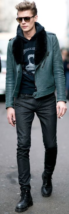 Men's casual street style | Janis Ancens