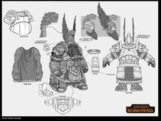 Впечатляющий концепт-арт Total War: Warhammer   Канобу