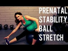 20 Minute Prenatal Stability Ball Workout---Pregnancy Workout for All Trimesters - YouTube