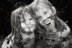 Nothing like a good sibling mud fight these are not my kids but we had many days like this one c.a.