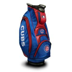 Team Golf Chicago Cubs Victory Cart Golf Bag - Golf Equipment, Collegiate Golf Products at Academy Sports