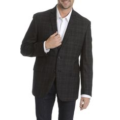 Daniel Hechter Men's 100-percent Fancy Sport Coat