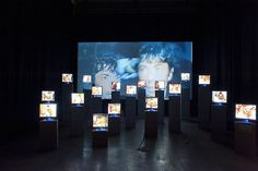 Video installation at le 104
