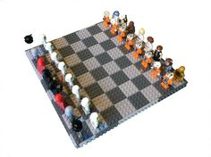 Lego® Star Wars® Custom Minifigure Chess Set by MountainOfAwesome