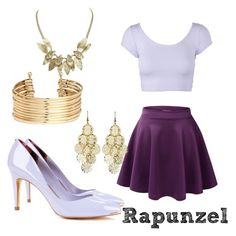 """Modern day Rapunzel"" by angelica-infinity on Polyvore"