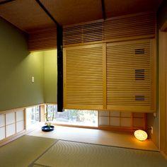 桜が咲くデザイナーズ住宅 和室(モダン和室)