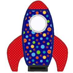 Rocket Ship Embroidery Applique File by Raelynsdreams on Etsy, $1.50
