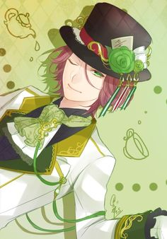 Diabolik Lovers x Alice in Wonderland Laito/Raito Sakamaki