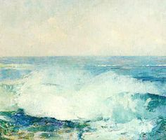 Emil Carlsen Crashing Waves (also called Study of Surf), c.1909  #Artist #EmilCarlsen #Venice #paintings #painter #PaintingsofVenice #EmileCarlsen #SorenEmileCarlsen #SorenEmilCarlsen #AmericanImpressionism #Impressionism #StillLife #StillLifePainter #StillLives #LandscapePainting #MarinePainting #Trees #PaintingsofTrees #Forest  Learn about artist Emil Carlsen at http://emilcarlsen.org