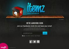 From now on you can join our invite list so that you'll be notified when itemzapp launches! http://www.itemzapp.com/