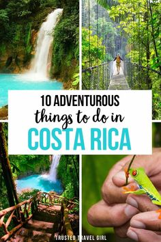 This is the 10 Adventurous Things to Do in Costa Rica. This is the Ultimate Guide to Costa Rica for Adventure Seekers. Tons of adventures to plan during your trip to Costa Rica! White water rafting, hiking, zip lining and more. Costa Rica is the perfect destination for active travelers. Costa Rica Travel Guide | Costa Rica Trip | Costa Rica Activities | What to do in Costa Rica | Costa Rica adventures | #costarica