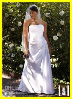 Wholesale Custom 2012 davidsbridal plus size Strapless Style 9WG3208 Beaded Wedding Bride Dresses Dress Gown, Free shipping, $117.6~134.4/Piece | DHgate Mobile