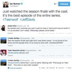 The Teen Wolf cast on the season 3 finale!!! eeeeeeeee!!!!!