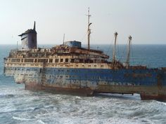 SS American Star Ship Wreckage Canary Islands