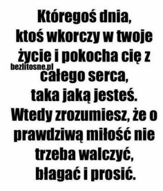 Ale ja nie chce kogoś tylko tego na którym mi zależy. Couple Quotes, Words Quotes, Me Quotes, Sayings, Saving Quotes, Comfort Quotes, Some Words, Positive Thoughts, Daily Quotes