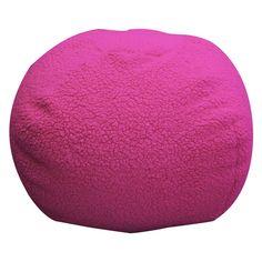 Newco Kids Sherpa Hot Pink Bean Bag Hot Pink Furniture, Bean Bag Furniture, Kids Furniture, Pink Bean Bag, Color Splash, Design, Home Decor, Room, Style