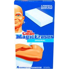 mr clean magic eraser bathroom Mr Clean Magic Eraser Original cleans like magic #MrClean