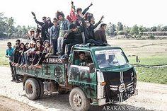 Nazi Truck Arakan State