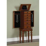 Hand painted jewelry armoire PARIS CHIC with by accentbydesign