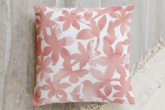 Spring Bloom Pillow by NutMeg Ink | Minted