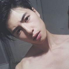 boy, asian, and black image
