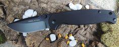 Real Steel Messer H6 Blue Sheep Taschenmesser schwarz 12C28N Sandvik Stahl in Sport, Camping & Outdoor, Werkzeug | eBay