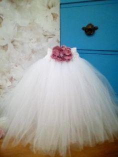 Flower girl dress flower girl tutu dress by MyTutuBoutiqueShop
